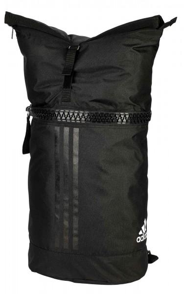 "adidas Military Bag ""martial arts"" Polyester black/white, adiACC044"