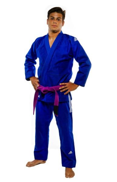 """adidas BJJ Anzug """"IBJJF Champion"""" blau JJ601B"""