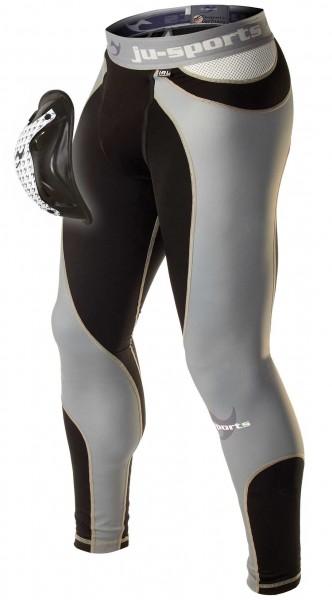 Ju-Sports Compression ProLine Spats + Motion Pro Flexcup, Tiefschutz