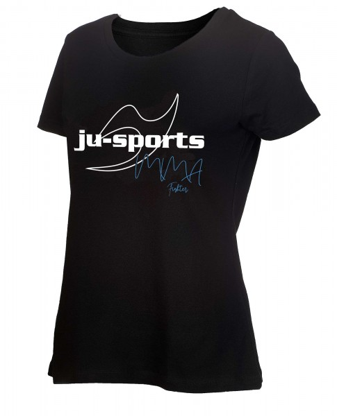 "Ju-Sports Signature Line ""MMA"" T-Shirt ladycut"