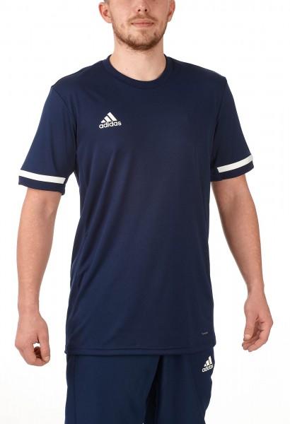 adidas T19 Shortsleeve Jersey Männer blau/weiß, DY8852
