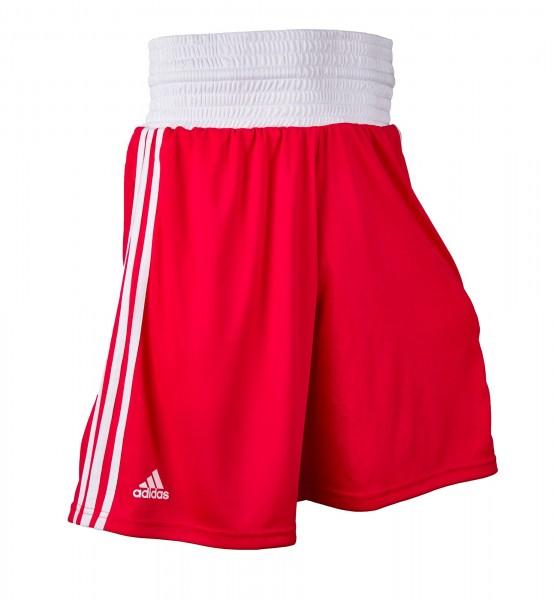 adidas Box-Short rot/weiß, ADIBTS02