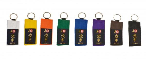 Schlüsselanhänger Gürtel Karate