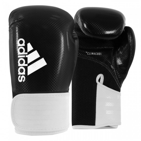 adidas Boxhandschuhe Hybrid 65, schwarz/weiß, ADIH65