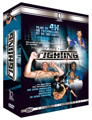Fighting DVDs Box Set (dvd 110 - dvd 111 - dvd 54)