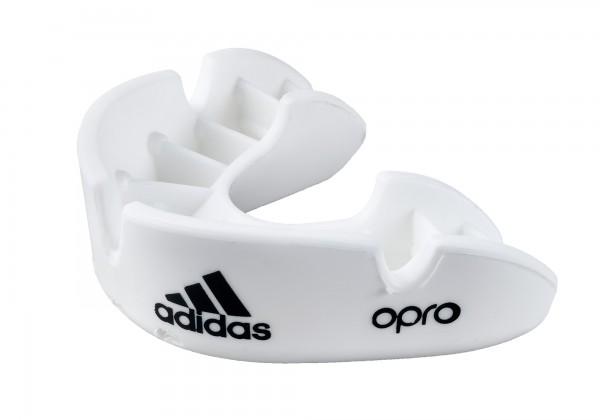 adidas Zahnschutz OPRO Bronze white, ADIBP31