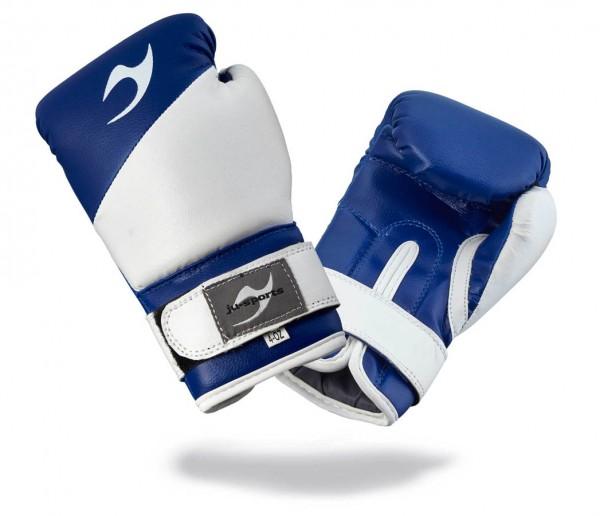 Kinderboxhandschuhe Bonsai blau