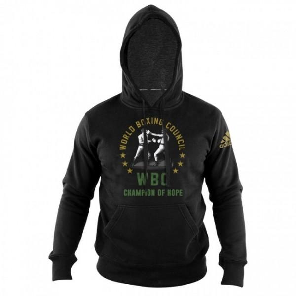 adidas WBC Boxing Hoody Heritage - black, adiWBCH01