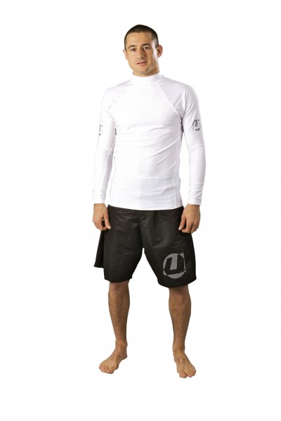 Rash Guard langarm Under-Gi weiß