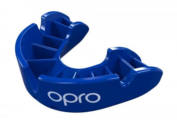 OPRO Zahnschutz Junior Bronze - Blue