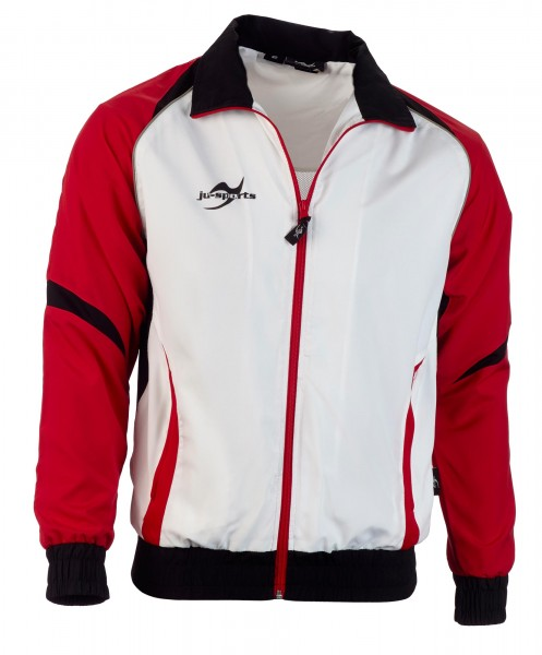 Teamwear Element C2 Jacke weiß/rot