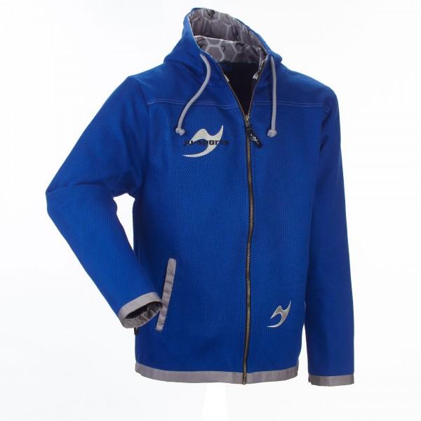 Street-Gi Hooded Zip Jacket blue