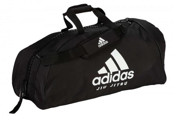 "adidas Sporttasche ""Jiu-Jitsu"" black/white Nylon, adiACC055"