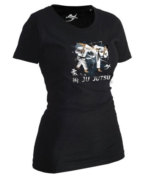 Ju-Jutsu-Shirt Artist schwarz Lady