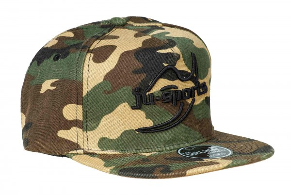 "Ju-Sports ""Snap Five Logo Cap 3D camo"""
