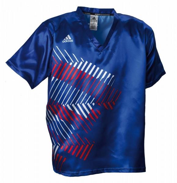adidas Kickbox-Shirt blau/rot/weiß, adiKBUN300S