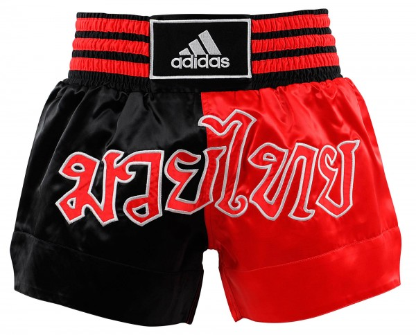 adidas Thai-Boxing Short Black/red, ADISTH03
