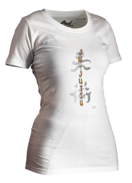 Ju-Jutsu-Shirt Classic weiß Lady