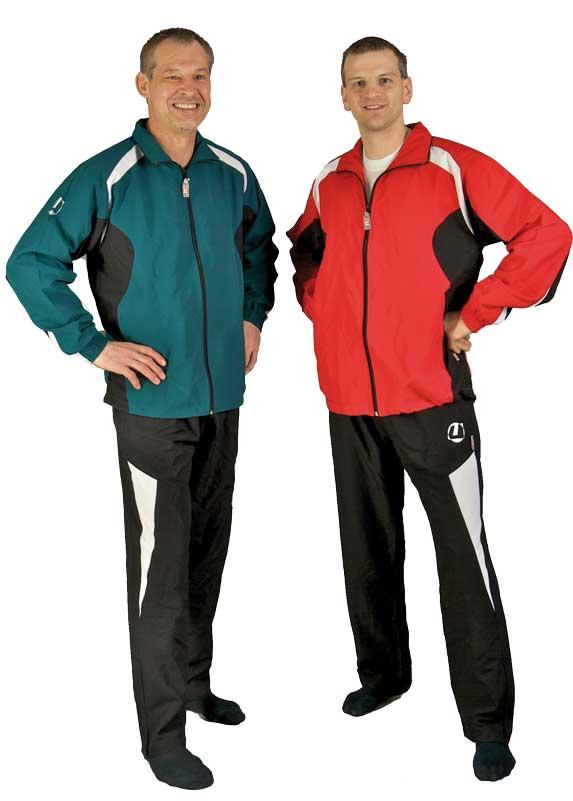 Trainingsanzug Ju-Sports Rio rot//schwarz