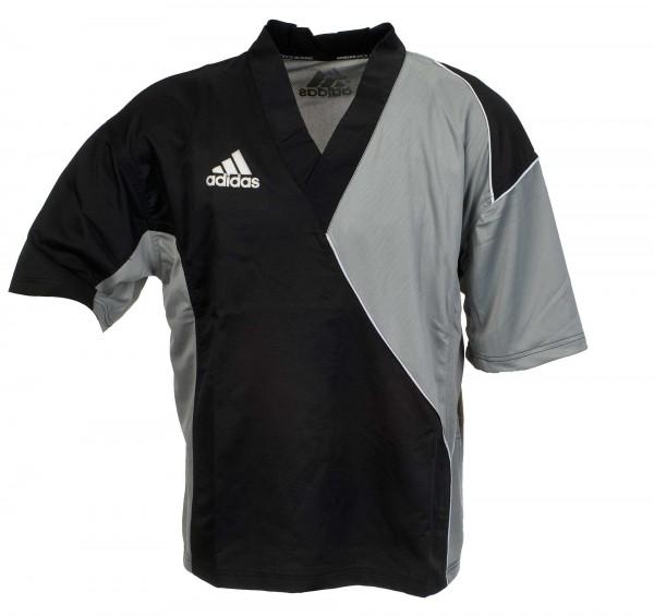 adidas Kickbox-Jacke schwarz/grau ADITU010