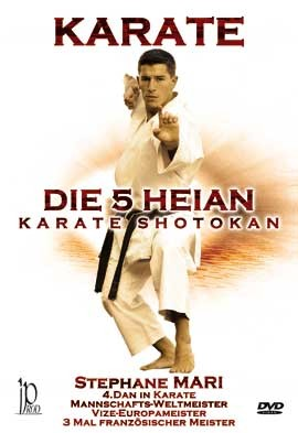 Karate The 5 Heian Shotokan Karate, DVD 80