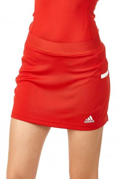 adidas T19 Skort Damen rot/weiß, DX7307