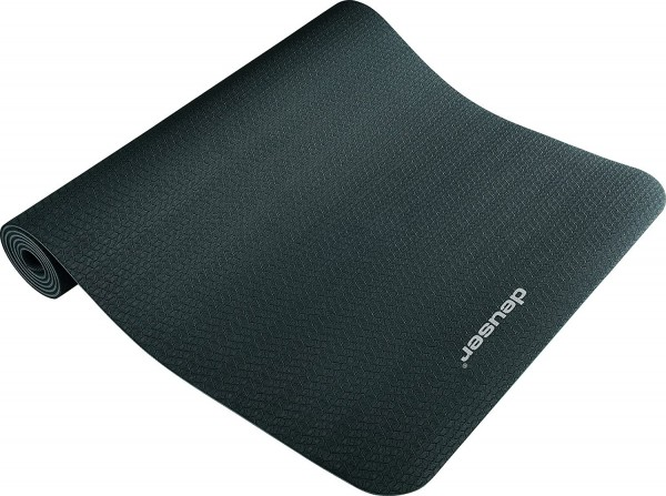 Deuser Yoga Matte schwarz 121045S