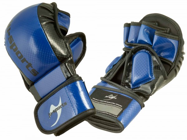 MMA/Allkampf Sparring Handschuh Carbon blau