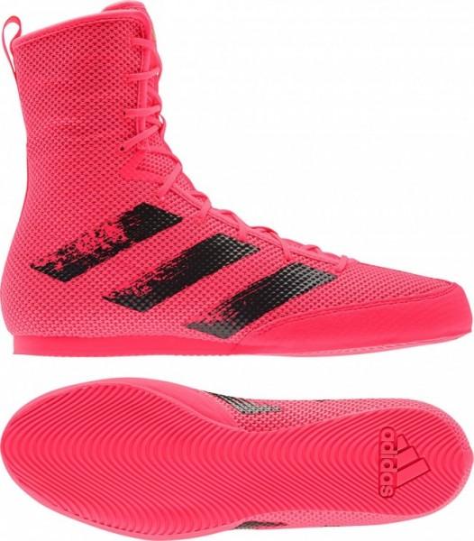 adidas Boxschuhe Box Hog 3 pink/black - FX1991