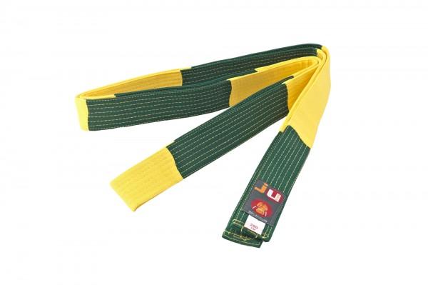 BJJ Wettkampfgürtel gelb/grün