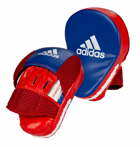 adidas Pratze Focus Mitt Hybrid 150 red/blue PU, adiH150FM