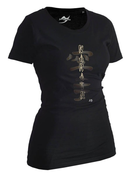 Karate-Shirt Classic schwarz Lady