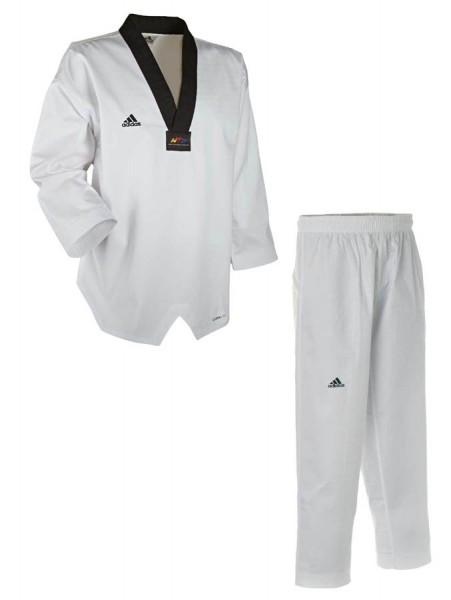 adidas Taekwondoanzug, Adichamp III,schwarzes Revers, ADITCH03