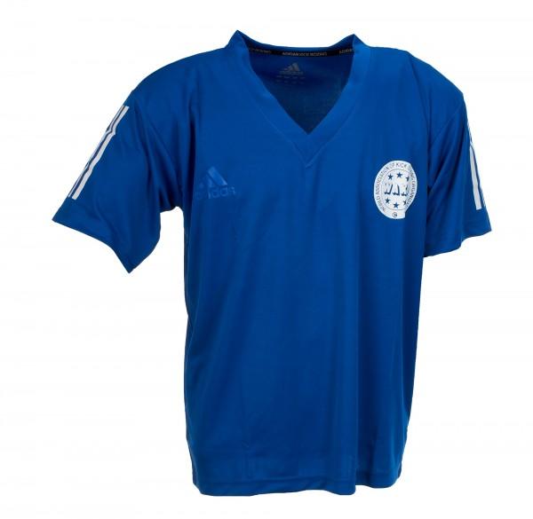 adidas Kickbox-Point Fight Shirt blau PE, adiPFT1PE