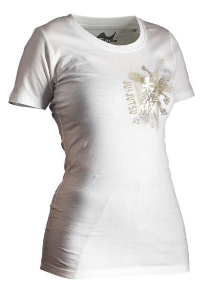 Ju-Jutsu-Shirt Trace weiß Lady
