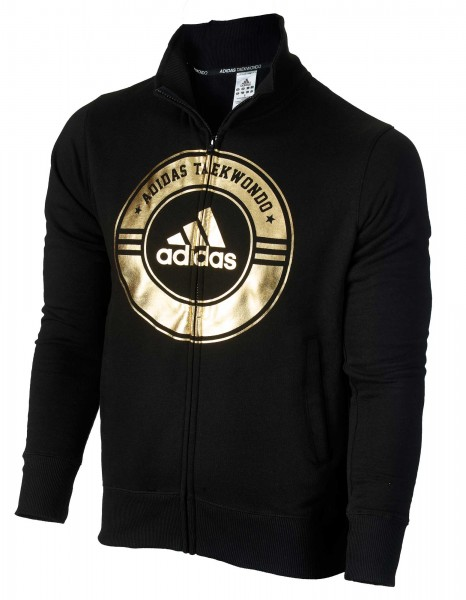 "adidas Community line Jacket Taekwondo ""Circle"" black/gold, adiCSJ02T"