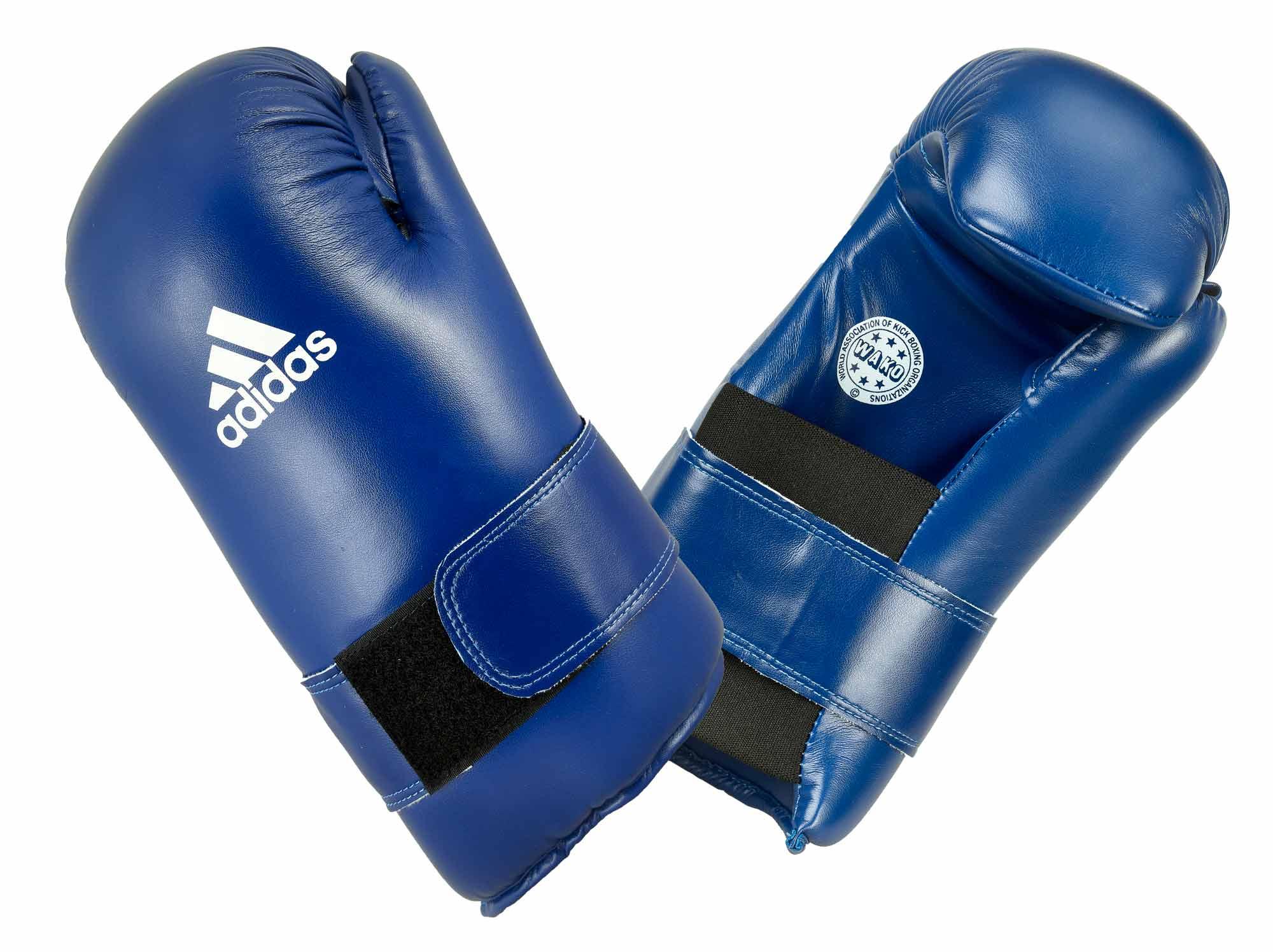50% off new styles latest design adidas Semi Contact Gloves - blue, ADIWAKOG3