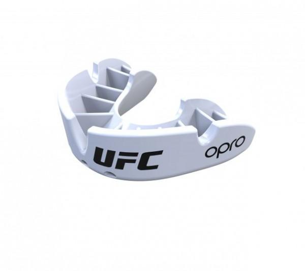 "OPRO ""UFC"" Zahnschutz Bronze - White, Senior"