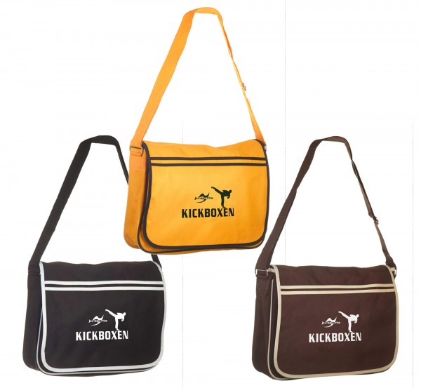 Messenger Bag Retro Kickboxen