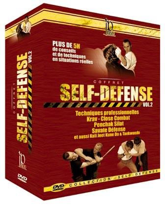 PACK SELBSTVERTEIDIGUNG BAND 2 (dvd 94 - dvd 81 - dvd 40 - dvd 105)