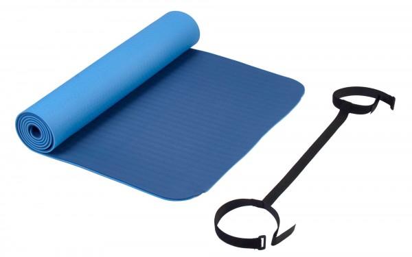 Deuser Yoga Matte blau 121045B