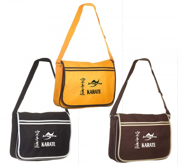 Messenger Bag Retro Karate