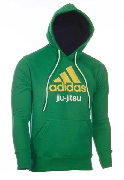 adidas Community line Hoody BJJ grün/gelb