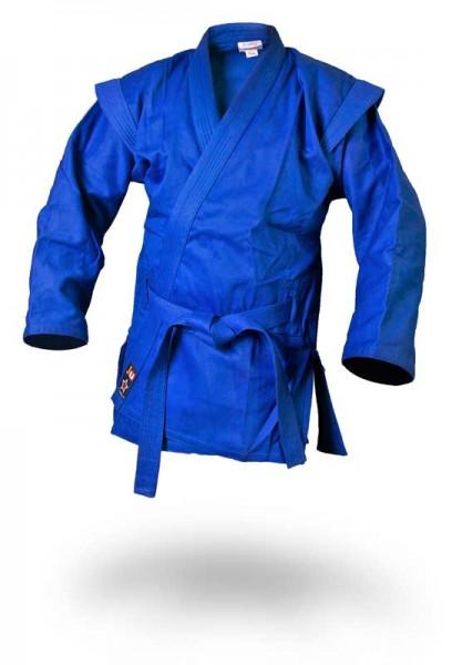 Sambo Jacke - Kurtka - blau inkl. Gürtel