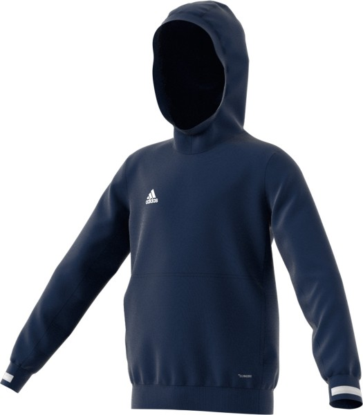 adidas T19 Hoodie Kids blau/weiß, DY8821