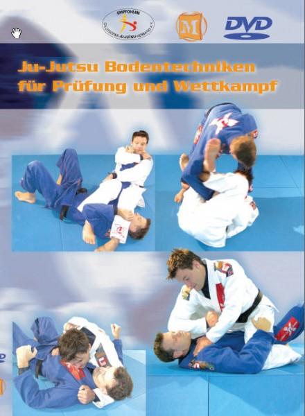 Ju-Jutsu Bodentechniken für Prüfung und Wettkampf