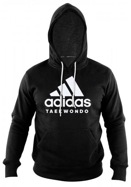 "adidas Community line Hoody Taekwondo ""Performance"" black/white, ADICHTKD"