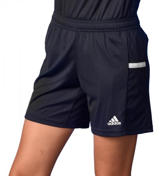 adidas T19 Knee Shorts Damen schwarz/weiß, DW6882