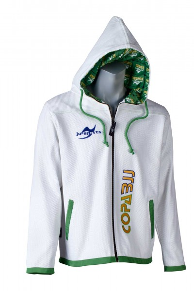Street-Gi Hodded Zip Copa BJJ limited edition