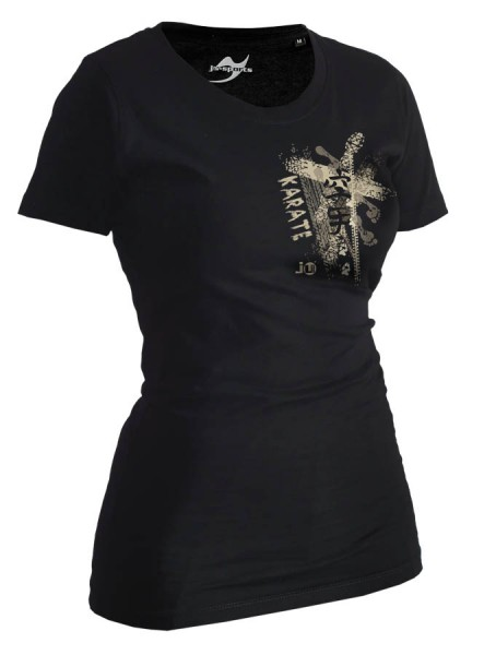 Karate-Shirt Trace schwarz Lady
